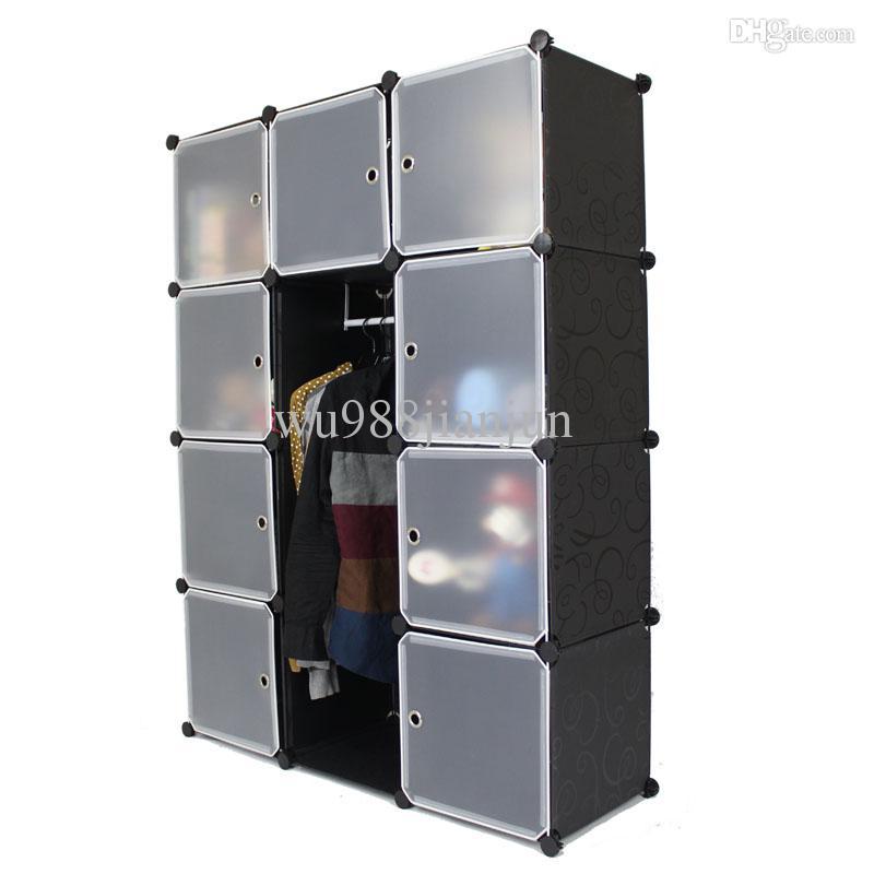 2017 Diaphragm Clothes Storage Cabinet Plastic Simple
