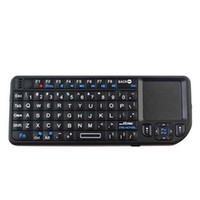 Wholesale New Mini Wireless Bluetooth Keyboard Keypad Touchpad for Google TV PC zl80