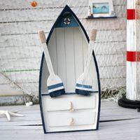 Wholesale Storage storage boat cabinet white solid wood shelf storage cabinet storage cabinet with drawer