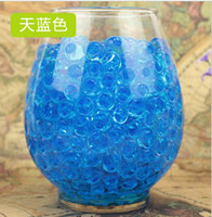Wholesale Magic Gel Crystal Soil Mud Water Beads Pearl Gem for Flower Plants