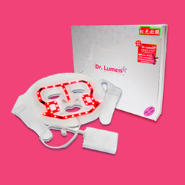 Wholesale 2014 NEW LED red light therapy beauty mask skin tighten wrinkle removal pdt led facial mask