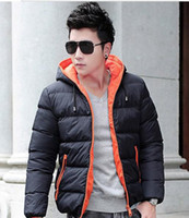 basics jacket mens - New Arrival mens winter jacket men s hooded wadded coat winter thickening outerwear male slim casual cotton padded outwear