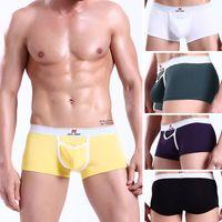 Cheap Men Modal Mens Boxers Briefs Best Boxers & Boy Shorts Sexy New Sexy Underwear Trunks