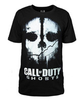 Wholesale Call Of Duty ghosts Modern Warfare COD MW3 ELITE GAMERTAG Mens New Short sleeve T Shirt