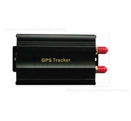 Sistema de alarma a distancia un coche en venta-Vehículo Tracker GPS 103B con lot liberan la ranura de la tarjeta SD de alarma de control remoto GSM anti-robo sistema de alarma de coche / 5pcs