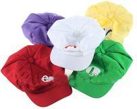 Wholesale 2014 new Super Mario Bros Anime Cosplay Hat red white Mario green Luigi yellow Wario Purple Wario hats