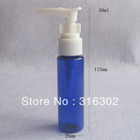Wholesale ml blue pet cream bottle cc blue plastic lotion pump bottle oz pet bottle cosmetic container