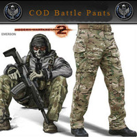 cod - Great quality New COD Call of Duty Task Force Ghost G3 Emerson Battle Outdoor Tactical Camouflage pants S XXL at stock