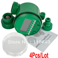 Wholesale 4pcs Fashion New Electronic LCD Water Timer Sprinkler Control Timer Garden Irrigation Program TK0976