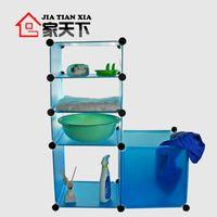 Wholesale Diy basin rack bathroom basin rack shelf corner bracket dirty clothes storage basket
