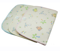 Wholesale Bamboo fabric Urine pad Waterproof cotton Urine pad Three in one baby s Urine pad cm Baby Changing Pads EMS