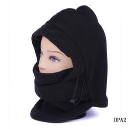 Wholesale Thermal Balaclava Hood Unisex Functional Face Mask Hat Black Warm Scarf Cap Fit Ski Cycling DPA2
