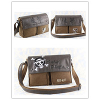 Anime & Comics attack years - Hot sale Anime Attack on Titan Leather Canvas Shoulder Bag Messenger Bag style
