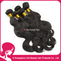 Wholesale Body Wave virgin Brazilian hair weaving extensions one donor