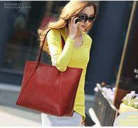 Wholesale Fashion ladies handbag Women big totes Faux leather classic design lady shoulder bags large capacity girl bags