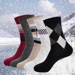 Wholesale 2013 men s autumn and winter terry wool cotton socks thickening fashion socks pairs a
