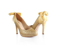 Women Stiletto Heel Sequined Cloth 2014 Sexy high heel shoes for lady Fashion Gold Sparkling High Heel Shoes Nice Woman Pumps Evening Party Prom Dress Shoes