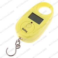 Pocket Scale <50g  Mini Digital Hanging Luggage Fishing Weighing Scale 25kgx5g MYY7861