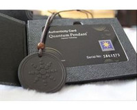 Beaded Necklaces beaded cards - DHL freeshipping scalar energy pendant quantum science pendant with box and card