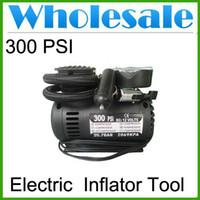 Wholesale Auto Electric V Car Portable Pump Air Compressor Tire Inflator Tool PSI lots30