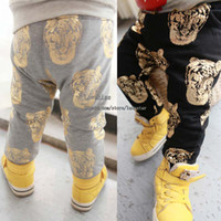 tiger print - Long Trousers Baby Clothes Harem Pants Tiger Printed Trouser Kids Clothing Children Casual Pants Boys Trouser Winter Pants Casual Trousers
