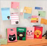 Wholesale Note books Korean fashion stationery stickers sticky notes Memo note pad note books