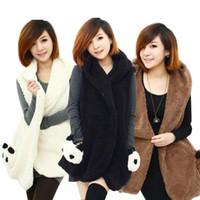 Vests Men Cotton free shipping--Wholesale Korean fashion women lady winter women female models women hairy vest vest vest 039