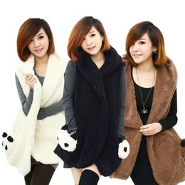 Wholesale Korean fashion women lady winter women female models women hairy vest vest vest