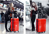 Wholesale cool Suitcases Pull rod box check in luggage suitcase travel box inches
