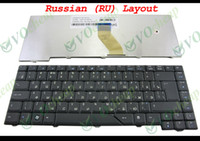 New and Original acer keyboards for laptop - New Laptop keyboard FOR Acer Aspire Black Russian RU