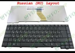 Wholesale New Laptop keyboard FOR Acer Aspire Black Russian RU
