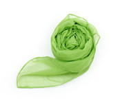 Wholesale Women s Voile Scarves Candy Fluorescent Green Gauze Scarf Sand Shawl Transparent Wraps DIF3