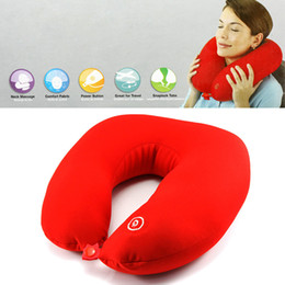 Wholesale Neverland electric Neck Massager Cushion Massager Pillow relaxing neck and shoulder muscles