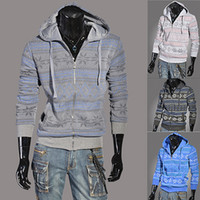 Wholesale 2014 Winter Spring hooded clothes Men s dust coat High Collar Men s Jackets top brand men s Hoodies S XXL qjq572