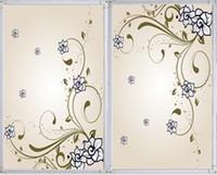 Wholesale Ccebs abs flower heater hemming radiator fan radiator