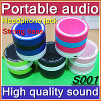 ipads - DHL Mini Super Bass Bluetooth Portable Video Speaker Wireless Music Hi Fi Player Stereo Speakers For iPhone5 S C S4 Note3 iPads JL00