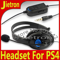 Cheap Headphone for PS4 Single Ended Headset for Sony Playstation 4 Luxurious with Retail Package