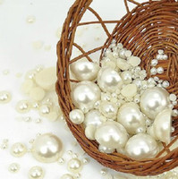 Wholesale BSI Over Mixed Sizes Flat Back Pearls mm mm Cream White DIY Cell Phone Case