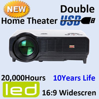 Wholesale 720P P HDMI LED H Large Screen inch LCD Projector