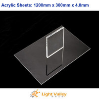Wholesale 1200mm x mm x mm Acrylic Plexiglass Sheets Clear