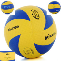 Wholesale panels mikasa volleyball FIVB ball MVA200 designs