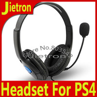 Wholesale Headphone for PS4 Luxurious Wired Headset for Sony Playstation Top Quality Headphones DHL