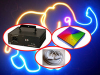 Blue animation laser - 1000mW W RGB Animation kpps kpps pro20kpps kpps DJ Christmas Party Disco Club Stage Laser Light m ILDA Cable iShow controller