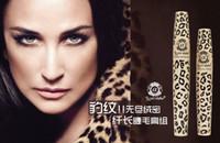 Wholesale Love Alpha Mascara Natural Fiber Magic Leopard Lashes Fiber Mascara Brush Eye Black Long Makeup Eyelash Grower Eye Black Curling Long Lashes
