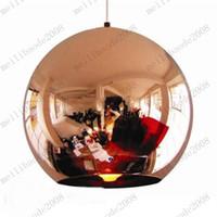 Pendant Light ball lamp shade - Tom Dixon Copper Shade Mirror Ball Ceiling Light Pendant Lamp Lighting cm MYY7878