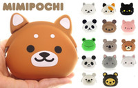 Wholesale Lucy Cat Bag Candy Color Jelly Silicone Coin Purse Coin Case Key Wallet Models Women Girl Christmas Holiday gift
