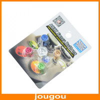 Wholesale Aluminum ABXY And Guide Fancy Bullet Button Assorted Color For XBOX360 ONE Controller