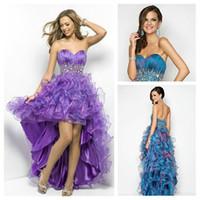 Free shippingThe Best Selling 2013 High Low Real Prom Dresse...