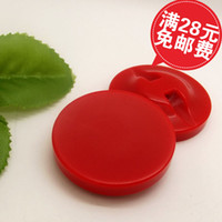 Cheap Overcoat button red concave buttons fashion overcoat trench decoration button diameter 38mm