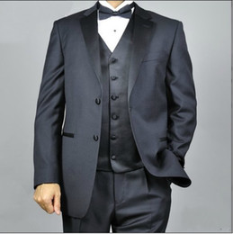 Wholesale advanced new arrival Men s Wedding Dress Groom Bridegroom suits Prom Clothing Groom Tuxedos